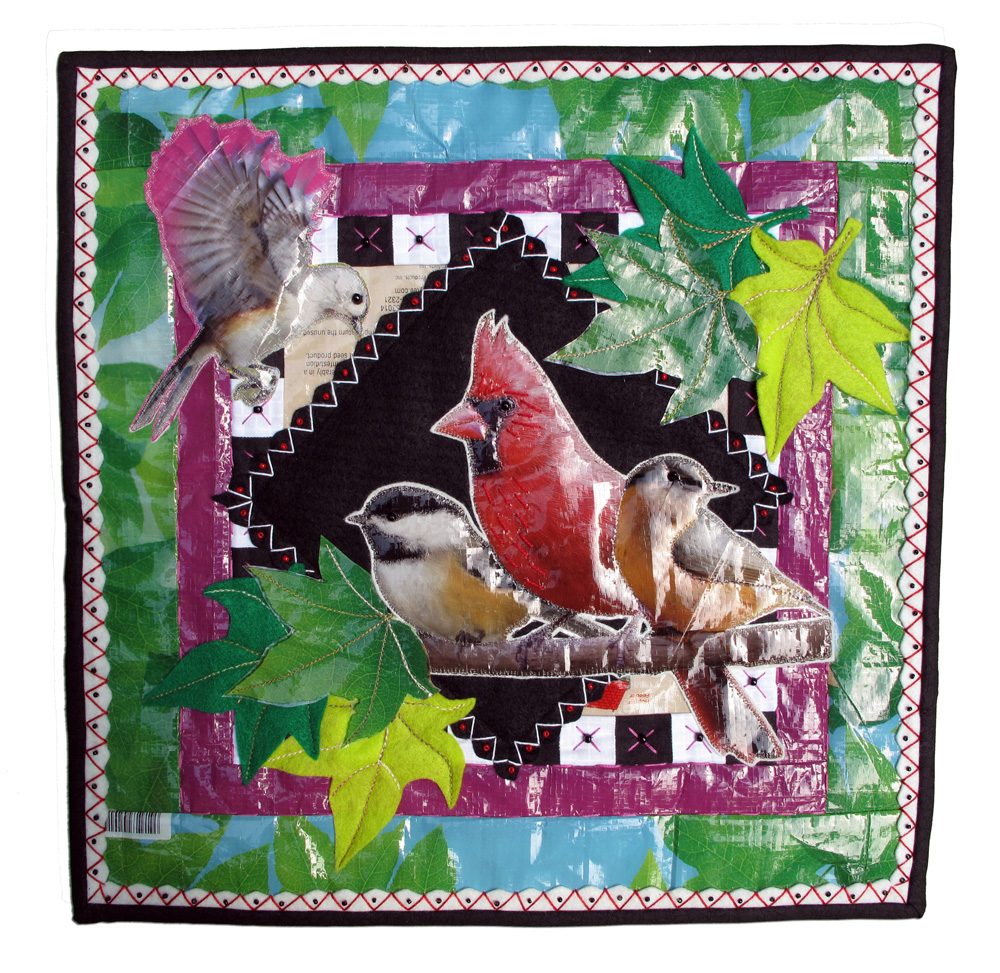 Feedsack Quilt, Ann Bordeau, Arden, North Carolina