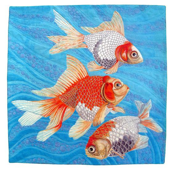 Honorable Mention, Fancy Goldfish, Susan Brubaker Knapp, Mooresville, North Carolina
