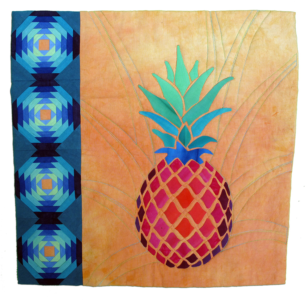 Pink Pineapple, Anita Karban-Neef, Cary, Illinois