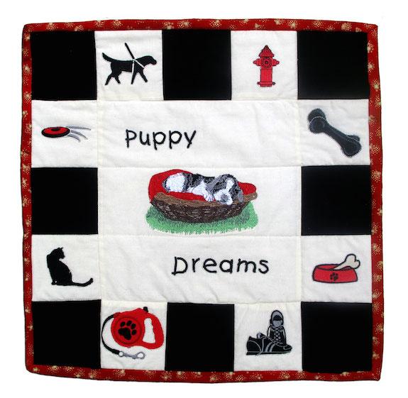 Puppy Dreams, Kitty Vangunten, Simsbury, Connecticut