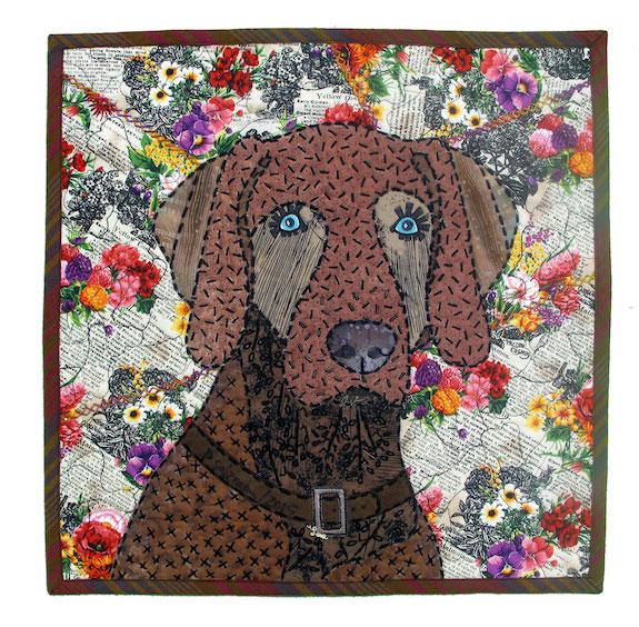 Brown Dog #1, Pauline Salzman, Treasure Island, Florida