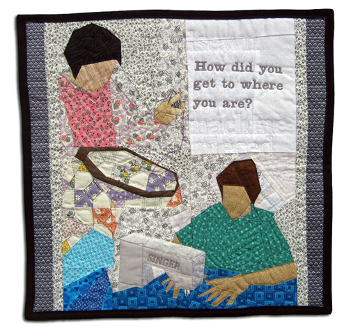Quilting Lessons by Allison Evans, 2010