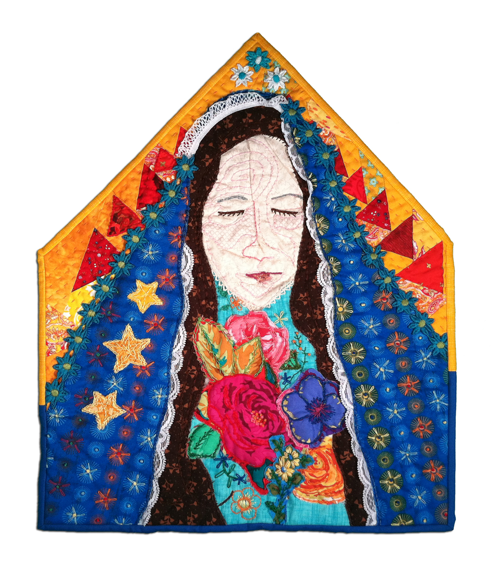 Quilted Mary by Victoria Findlay Wolfe, 2012