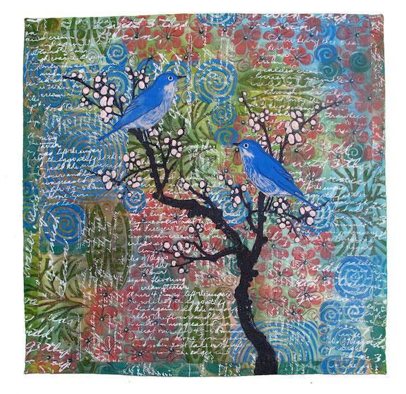 Bluebirds #2, Cynthia St. Charles, Billings, Montana