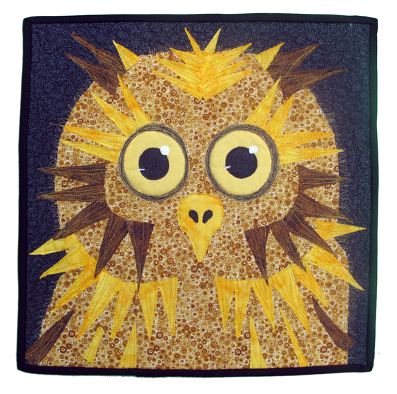 OWL by Jan D. Harmon of Costa Mesa, California