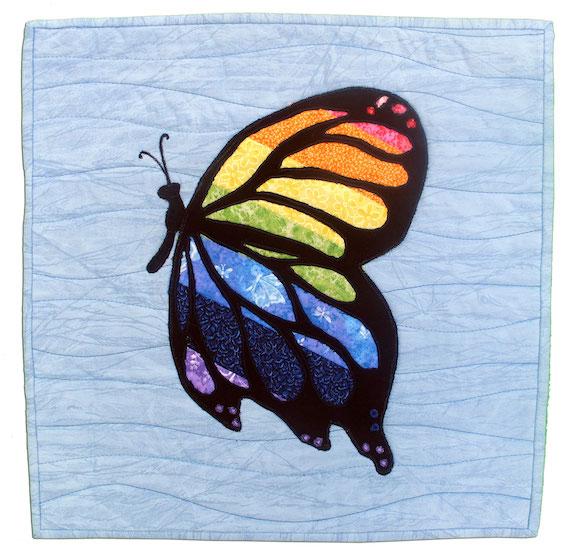 Molly's Rainbow Butterfly, Deborah S. Wheeler, Garden Prairie, Illinois
