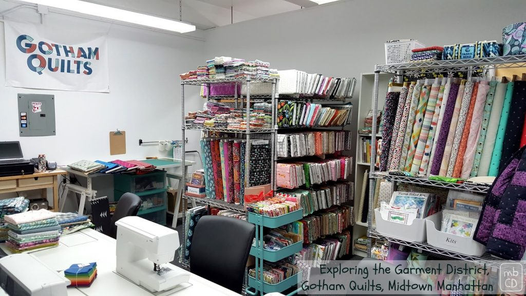 Gotham Quilts store interior