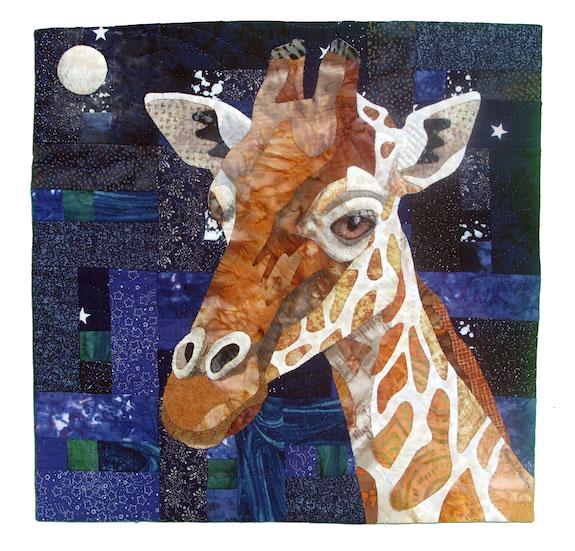 Grand Prize, Giraffe Nocturne Nancy S. Brown Oakland, California