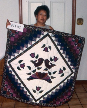 Lo Mao Moua, Country Bride quilt.