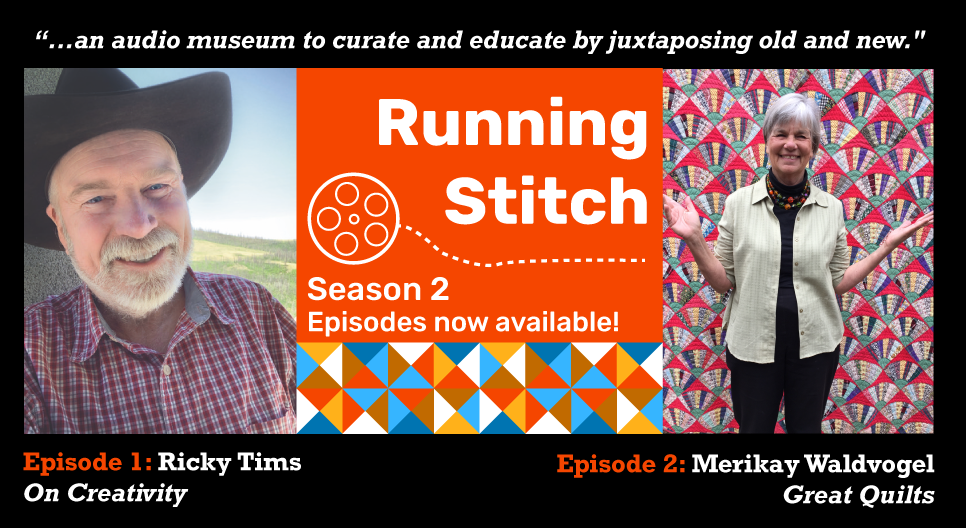 Running Stitch Podcast guests