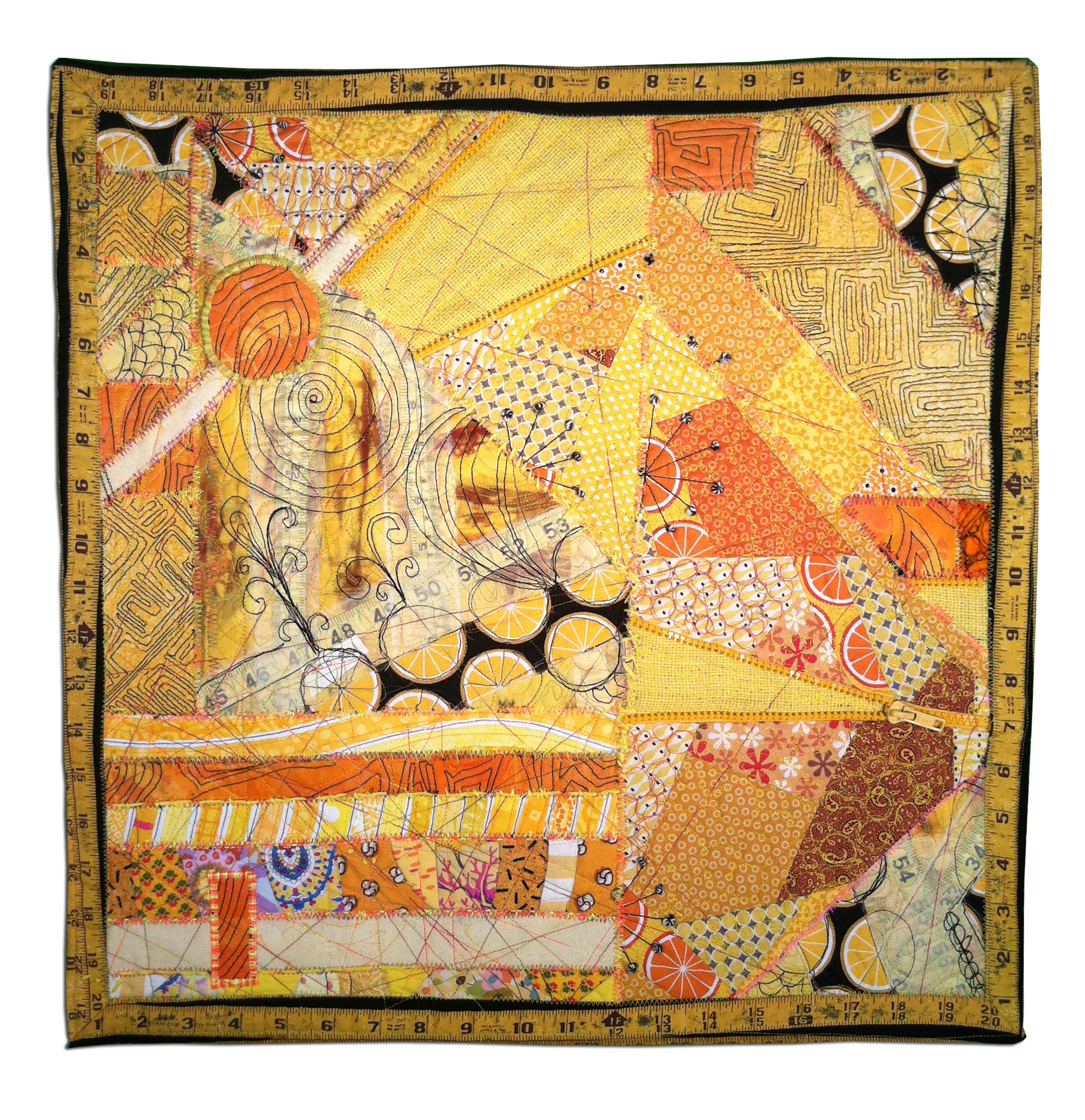 Second Triangulation by: Frances Holliday Alford, Hoodie Crescent, Leslie Tucker Jenison, Michele Mu