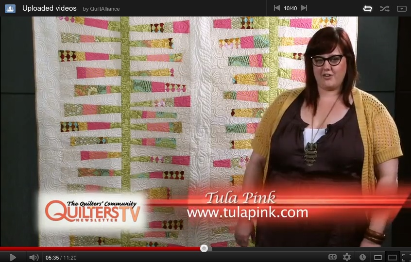 3. ​Support free Quilt Alliance content 24 hours a day and 7 days a week.