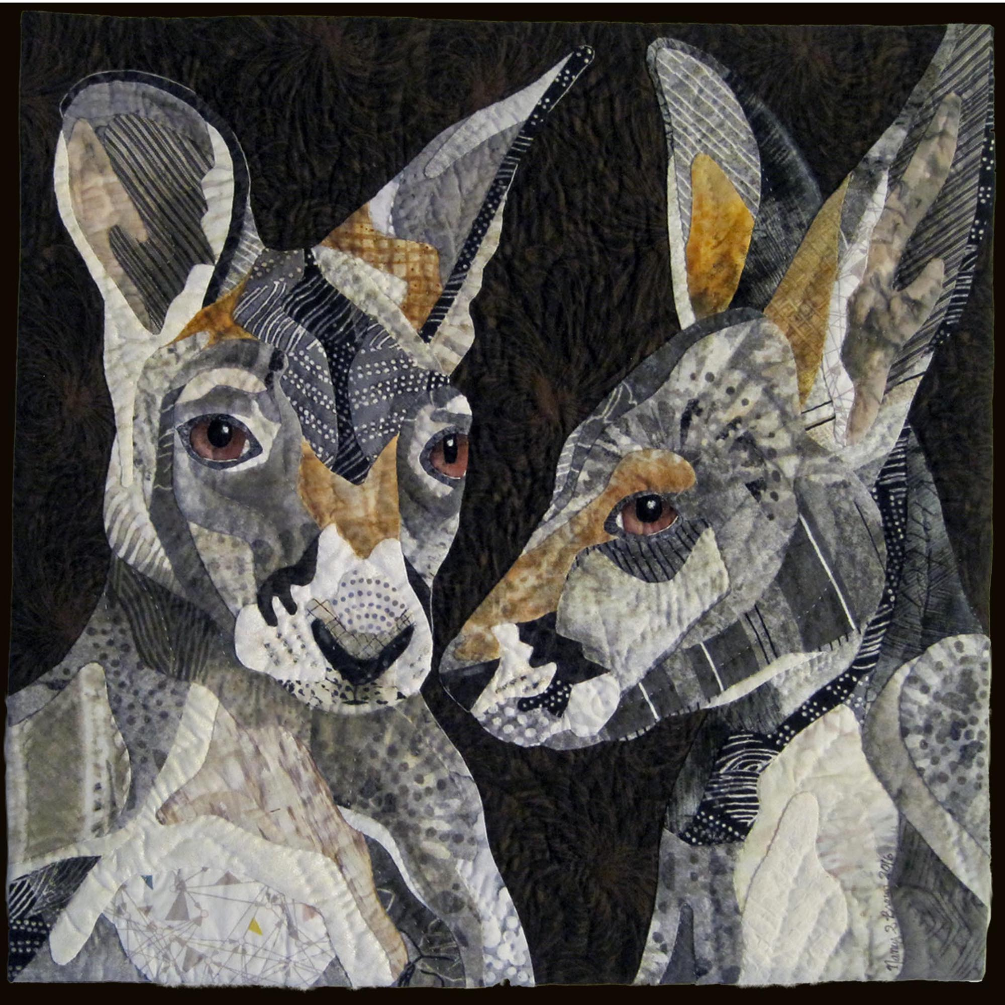 FIRST PLACE, <em>Roo to Roo</em>, Nancy Brown, Oakland, CA