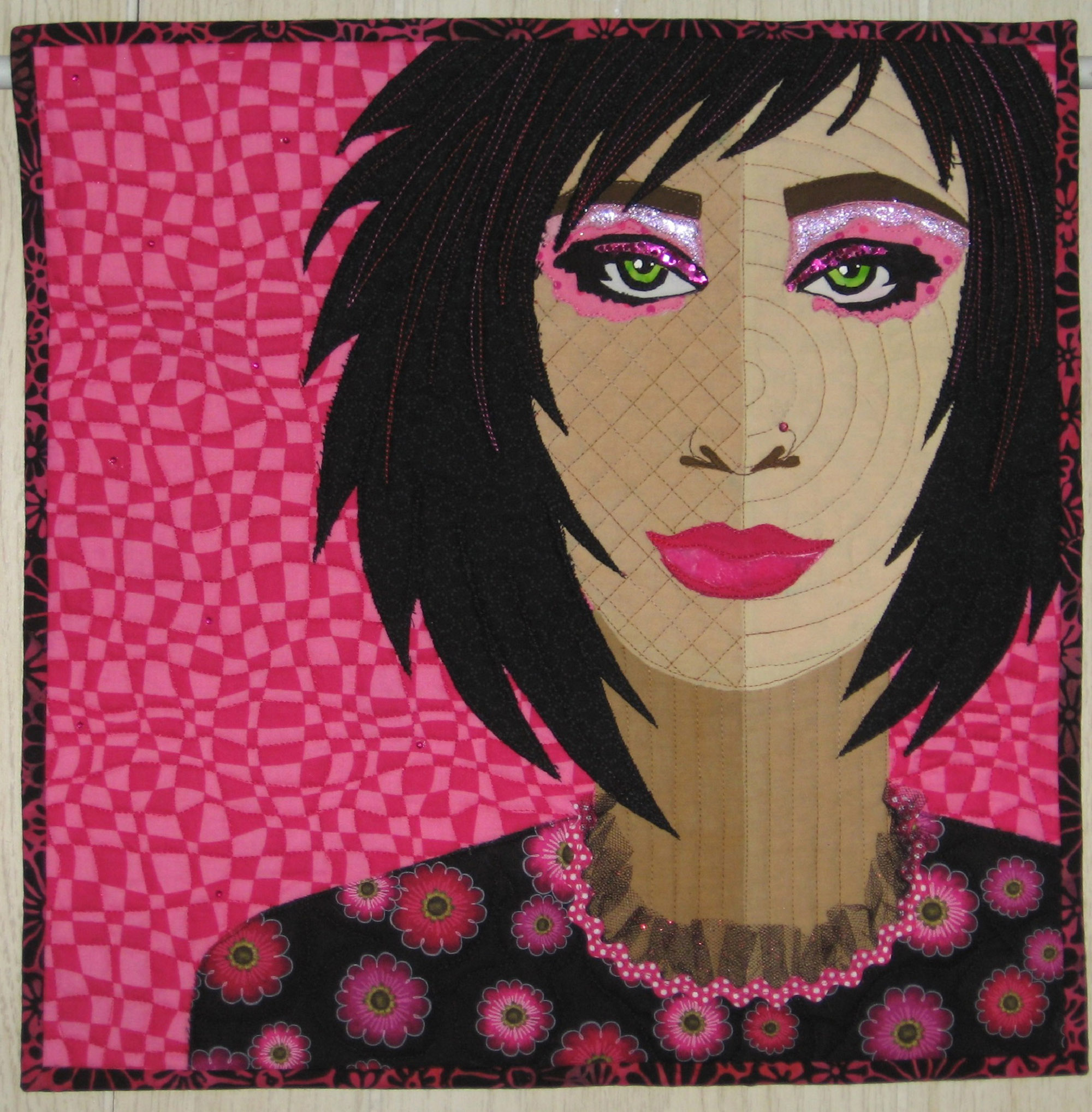 <em>Woman With Velvet Lips</em>, Laurie Ceesay, Menominee, MI