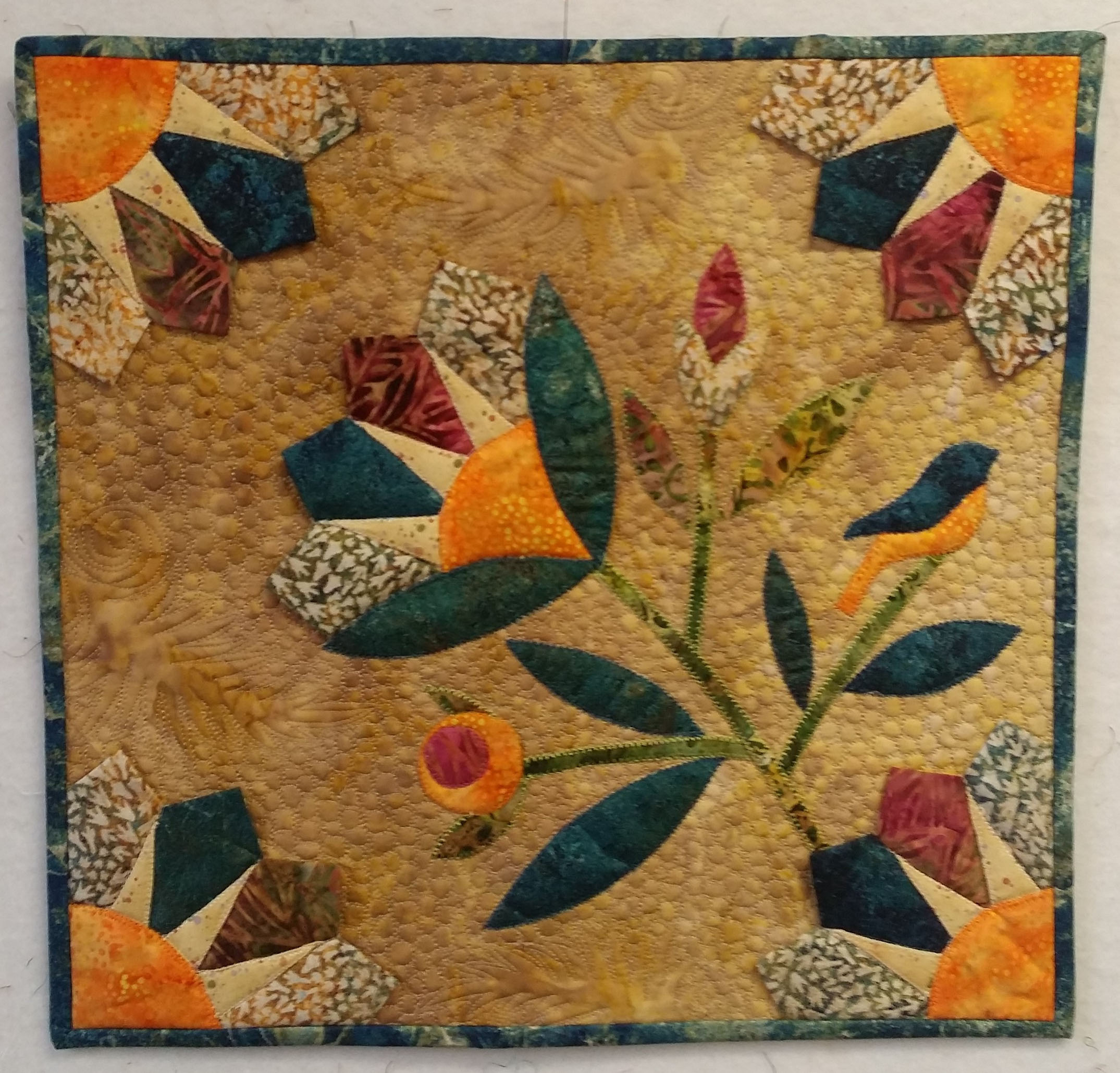 <em>Flower Power</em>, Sue Gies, Custer, SD