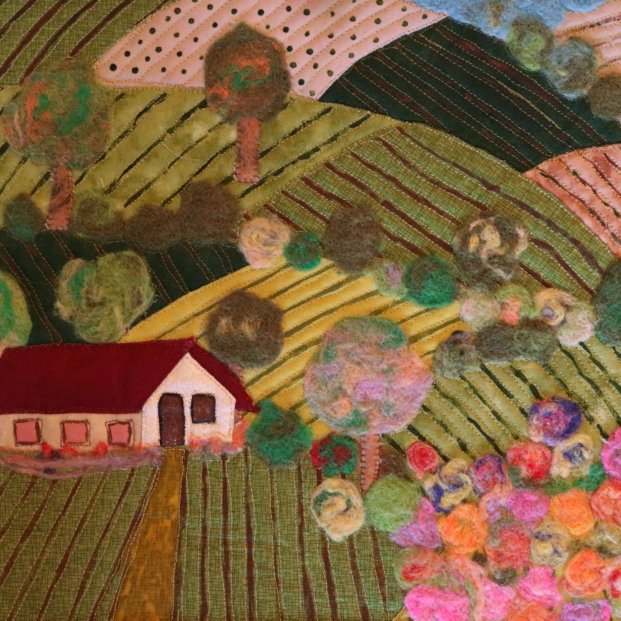 <em>Countryside in Spring</em>, María González Rico, Alcorcon, Spain