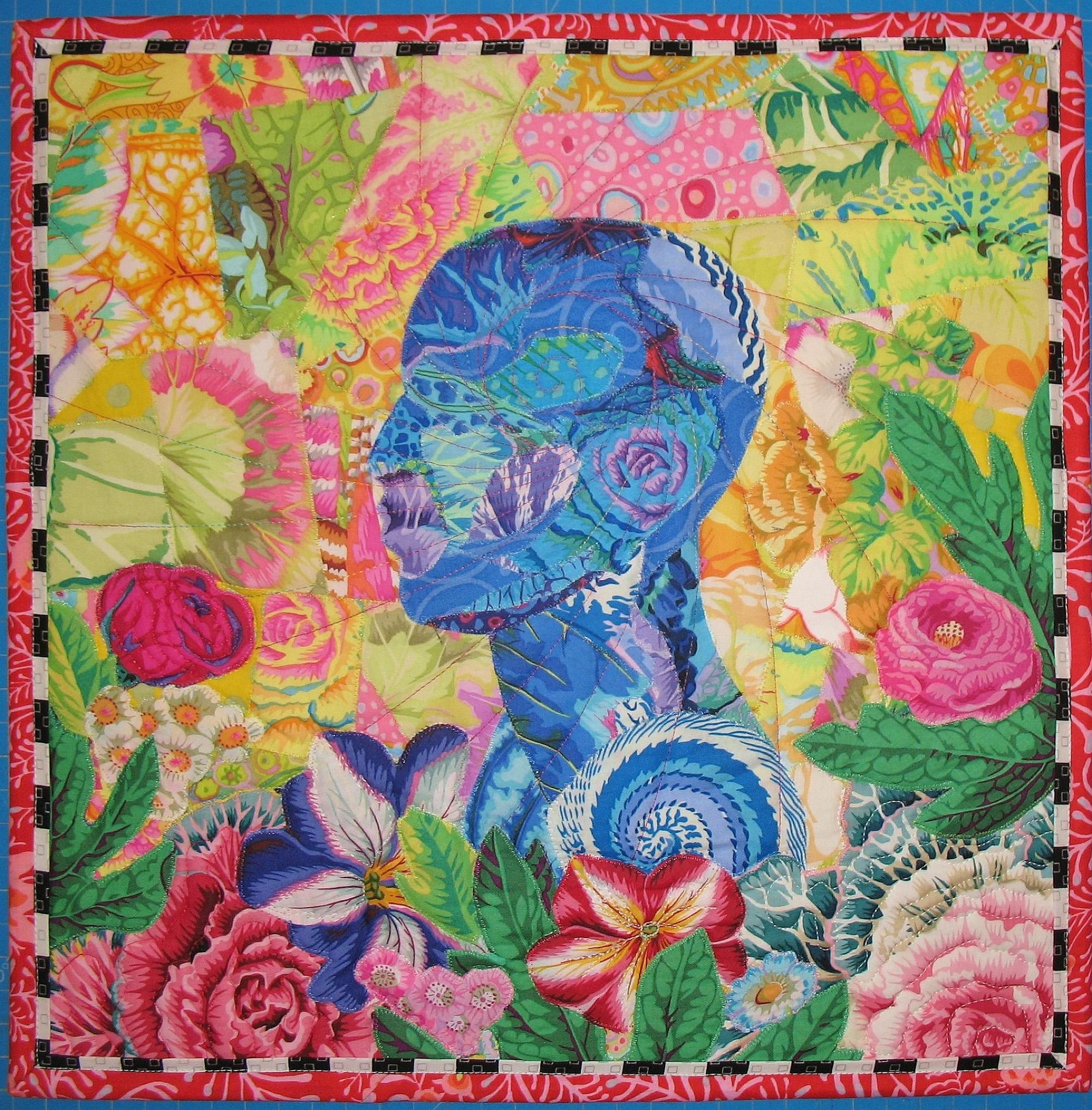 HONORABLE MENTION, <em>Blue Muse</em>, Sondra Millard, Wichita, KS