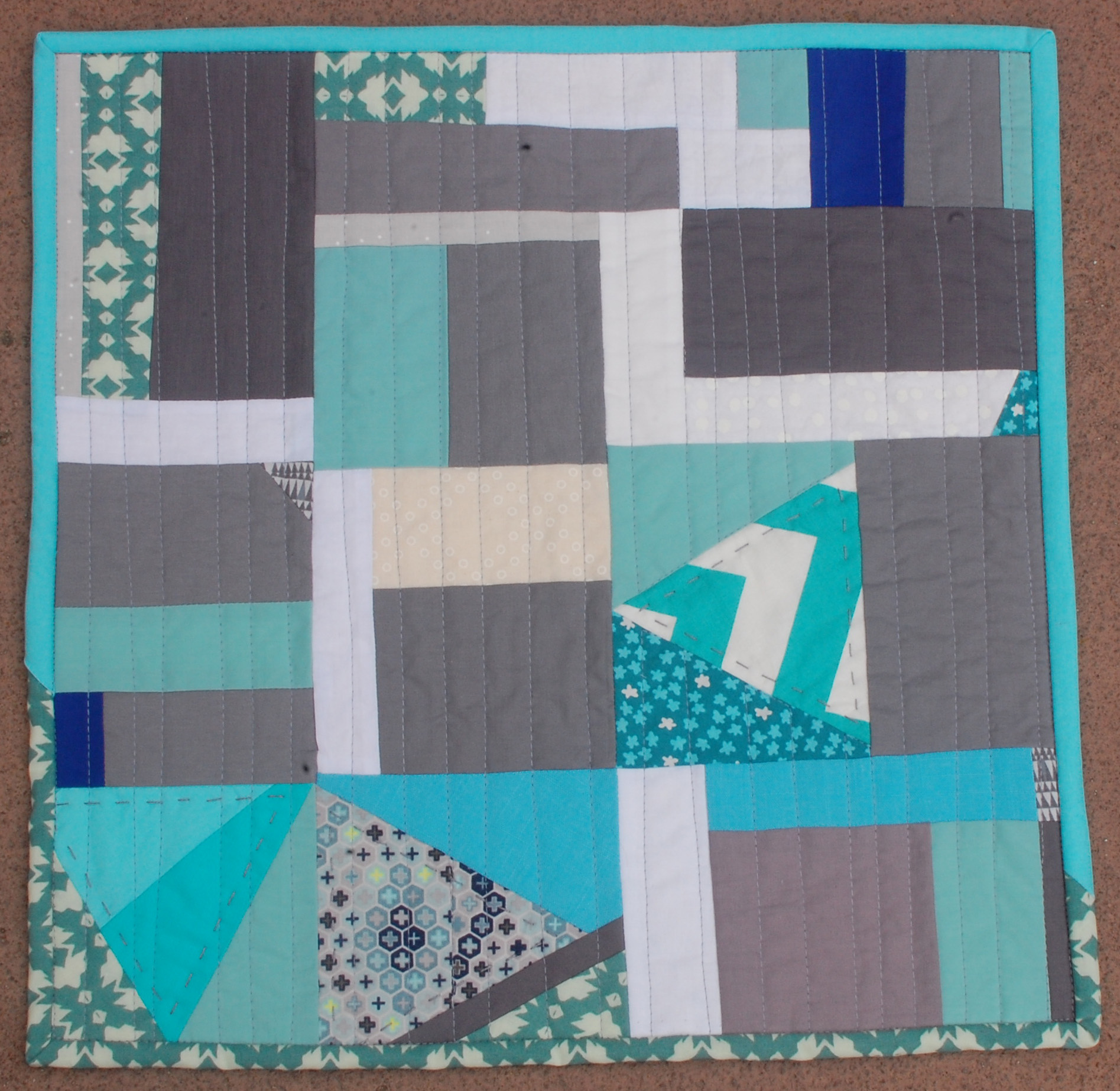 <em>Floating Squares and Triangles</em>, Esther Muh, Albany, CA