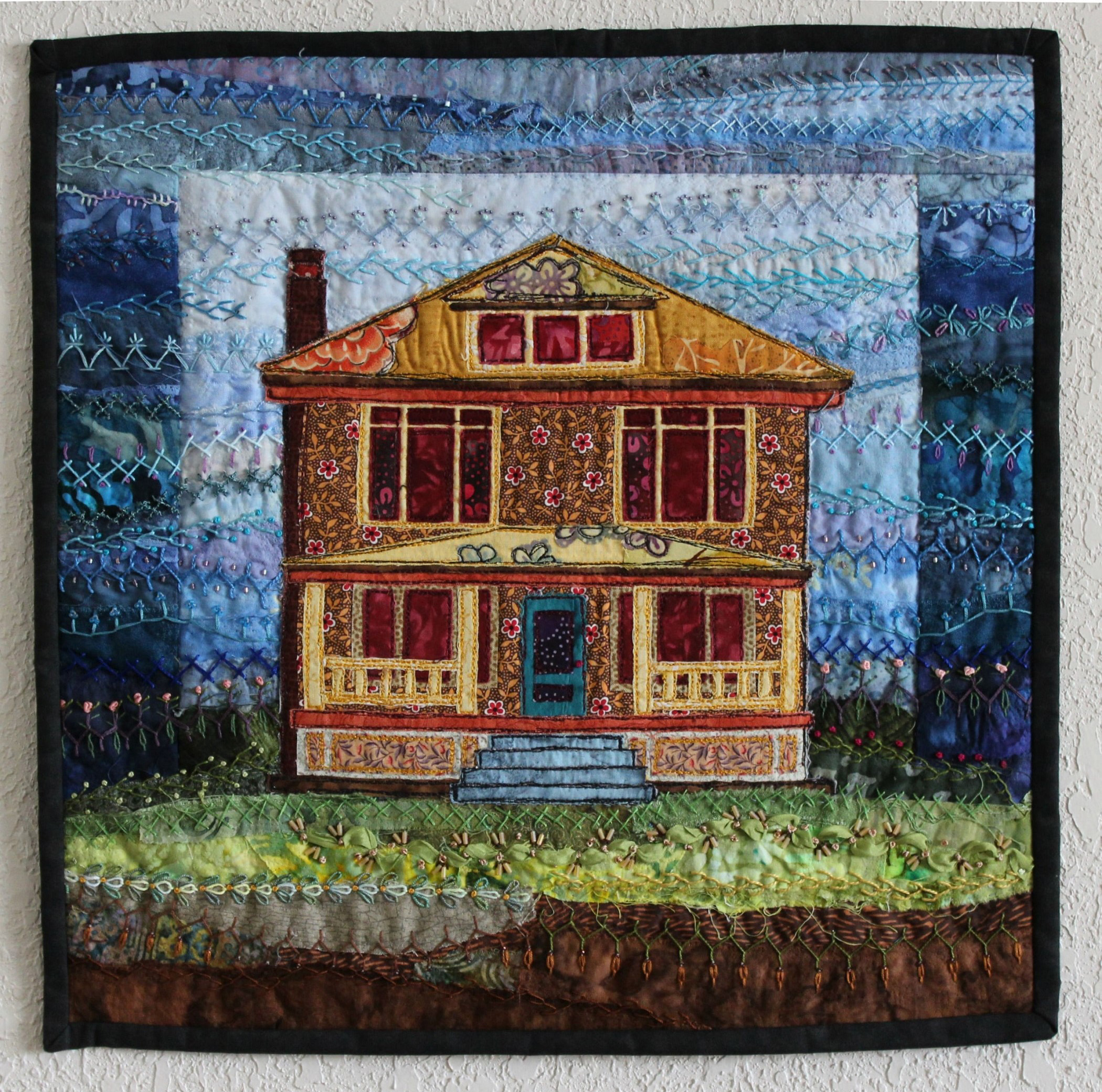 JUDGE'S CHOICE, <em>American Foursquare</em>, Amy Munson, Bismarck, ND