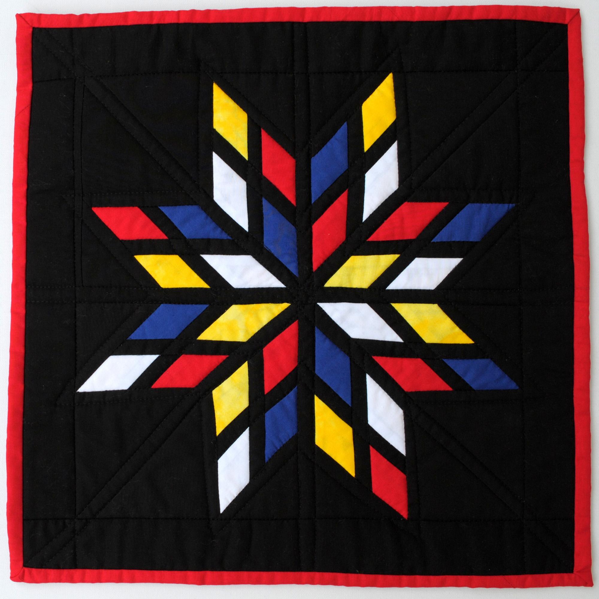 <em>Mondrian's Lone Star</em>, Linda Robertus, Grange, Australia