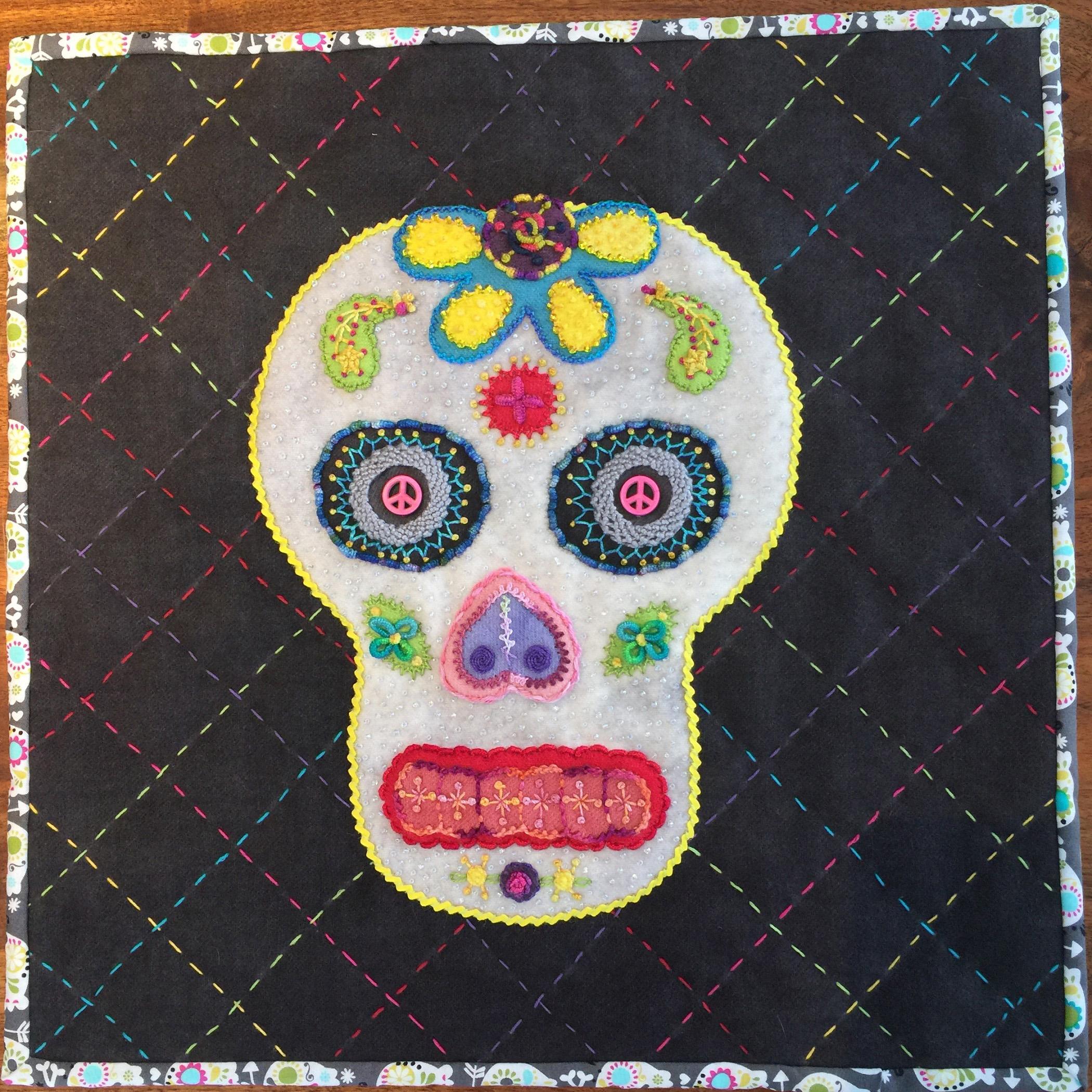 <em>Sugar Skull Study 2</em>, Mary Whittaker, Orlando, FL