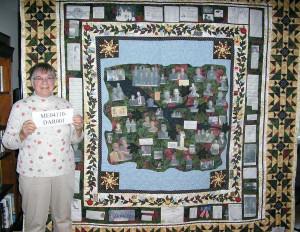 Kathy Kenny, Genealogy Quilt