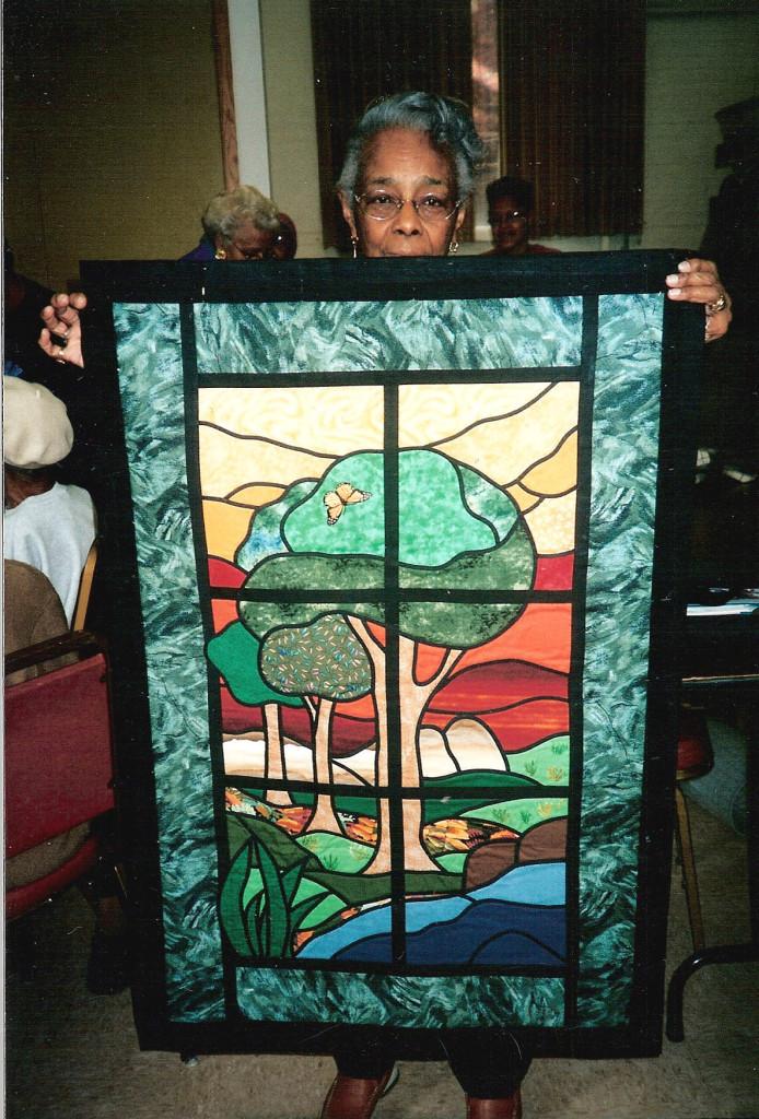 Carmel Washington, Stained Glass